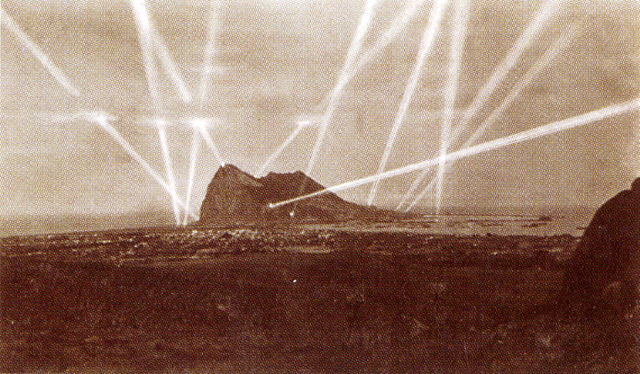 Searchlights of Gibraltar